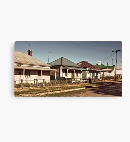 Country town living Canvas Print