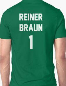 Attack On Titan Jerseys (Reiner Braun) T-Shirt