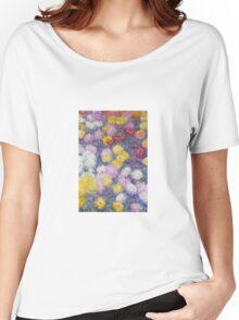 Claude Monet - Chrysanthemums  Women's Relaxed Fit T-Shirt