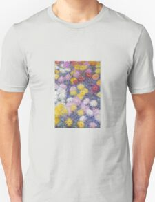 Claude Monet - Chrysanthemums  T-Shirt