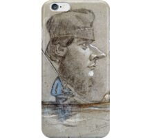 Claude Monet - A Hunter And His Dog On A Boat iPhone Case/Skin