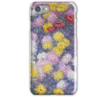 Claude Monet - Chrysanthemums  iPhone Case/Skin
