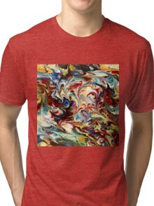modern composition 36 by rafi talby Tri-blend T-Shirt