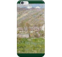 Claude Monet - Hamlet On The Cliffs Near Giverny iPhone Case/Skin