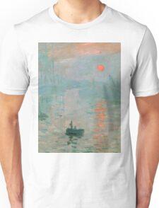 Claude Monet - Impression Sunrise Unisex T-Shirt