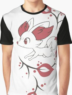 Fennekin Two Tone Graphic T-Shirt