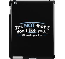 like wait iPad Case/Skin