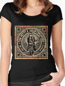 TOM PETTY HEARTBREAKERS ANTHOLOGY Women's Fitted Scoop T-Shirt