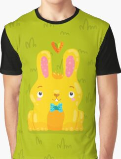 Cute Bunny Graphic T-Shirt