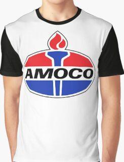 AMOCO oil vintage retro racing lubricant Graphic T-Shirt