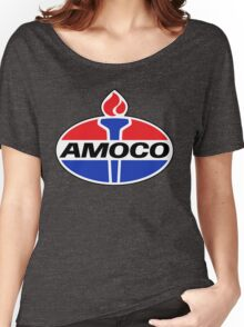 AMOCO oil vintage retro racing lubricant Women's Relaxed Fit T-Shirt