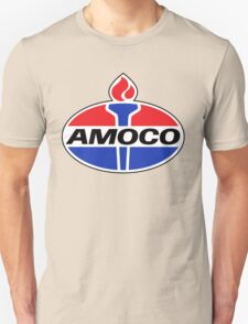 AMOCO oil vintage retro racing lubricant T-Shirt