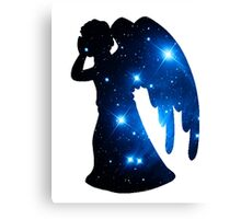 Weeping Angel Galaxy Canvas Print