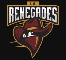Team LA Renegades logo Kids Tee