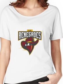 Team LA Renegades logo Women's Relaxed Fit T-Shirt