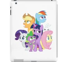 Main ponies shaking iPad Case/Skin