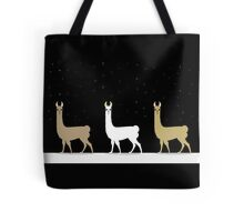 THREE L LLAMA Tote Bag