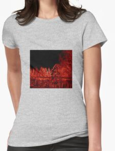 Red Woods Womens Fitted T-Shirt