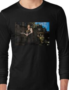 Elegance, Glamour and Chic - High Fashion Shop Window Reflections Long Sleeve T-Shirt