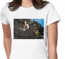 Elegance, Glamour and Chic - High Fashion Shop Window Reflections Womens Fitted T-Shirt