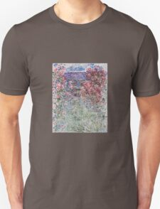 Claude Monet - The House In The Roses Unisex T-Shirt