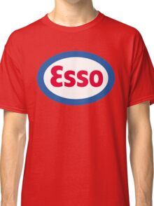 Esso Racing Oil Vintage Lubricant Classic T-Shirt