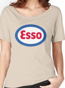 Esso Racing Oil Vintage Lubricant Women's Relaxed Fit T-Shirt