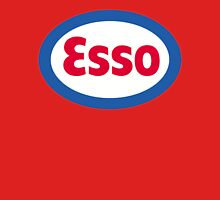 Esso Racing Oil Vintage Lubricant Unisex T-Shirt