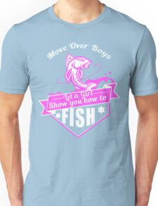 Fishing Girl Unisex T-Shirt