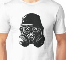 Gas mask skull Unisex T-Shirt