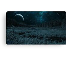 Science Fiction Forest Canvas Print