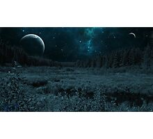 Science Fiction Forest Photographic Print