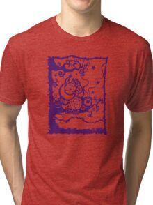 Coffee owl Tri-blend T-Shirt