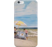 Oak Island Beach Scene iPhone Case/Skin