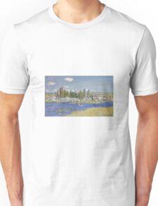 Claude Monet - Vetheuil Unisex T-Shirt