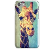The giraffe iPhone Case/Skin