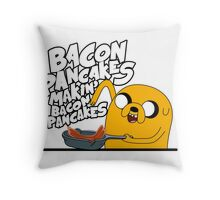 "Jake - Adventure Time ""pancakes"" Throw Pillow"