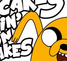 "Jake - Adventure Time ""pancakes"" Sticker"