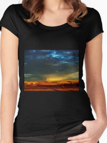 Something Wicked This Way Comes Women's Fitted Scoop T-Shirt