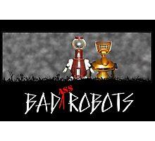 Baaaad Robots Photographic Print