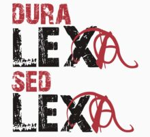 Dura lexa sed lexa One Piece - Short Sleeve
