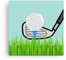 Gone Golfing Canvas Print