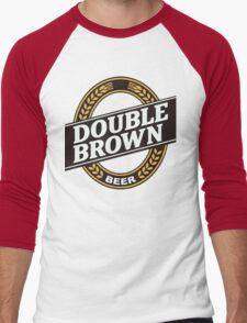 Double Brown - Nectar of the Gods Men's Baseball ¾ T-Shirt