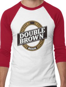 Double Brown - Nectar of the Gods Men's Baseball ¾ T-Shirt