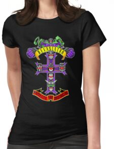 Appetite For Construction Womens Fitted T-Shirt