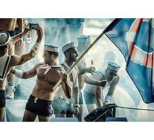 Their Iwo Jima Photographic Print
