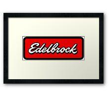 edelbrock 4wd 4x4 Rockcrawl Framed Print