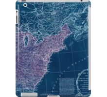 American Revolutionary War Era Maps 1750-1786 949 The United States of America with the British possessions of Canada Nova Scotia & of Newfoundland divided Inverted iPad Case/Skin