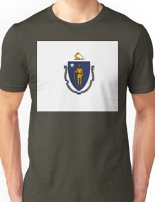 Massachusetts state flag Unisex T-Shirt