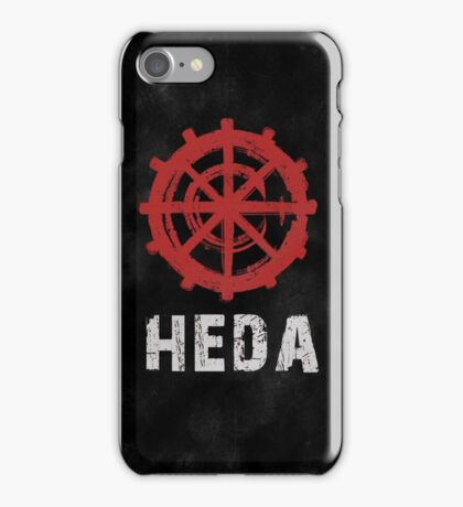 The 100 Heda Symbol [Black] iPhone Case/Skin